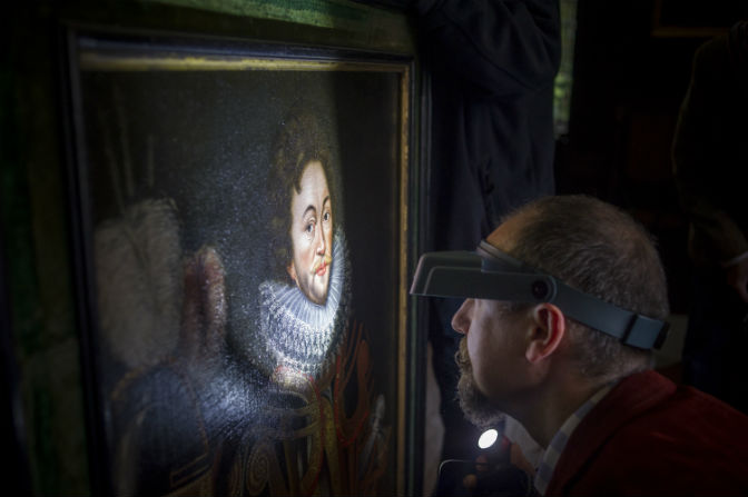 Newly identified earliest known portrait of Francis Drake on display for first time at his Buckland Abbey home