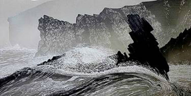Large-scale woodcuts celebrate beauty of South West