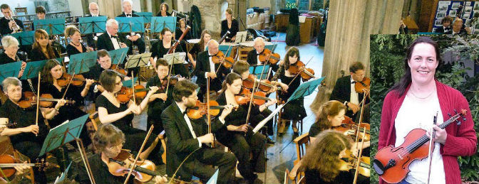 Plymouth Symphony Orchestra and Cath Smith