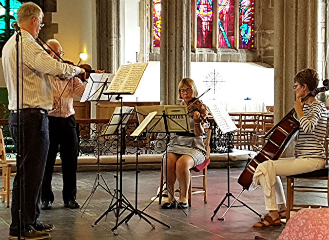 The Minister Quartet leaves the audience happy after Plymouth lunchtime recital