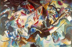 Wassily Kandinsky - Composition 6