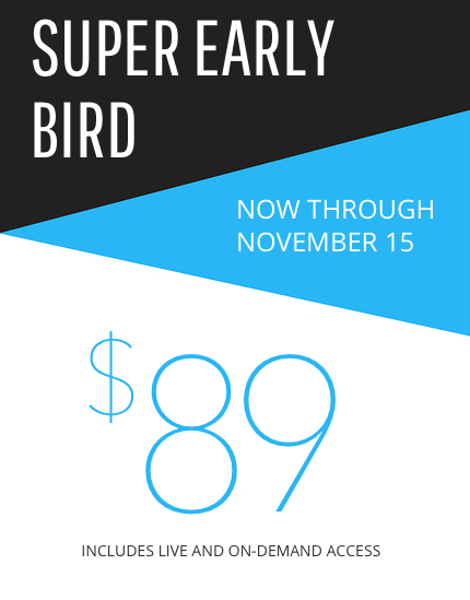 Super Early Bird Pricing