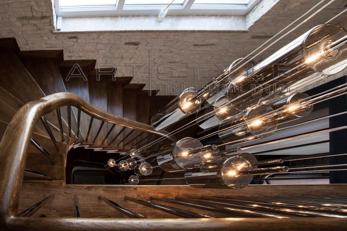 Villa dekorasyonları, villa dekorasyon örnekleri, villa merdiven