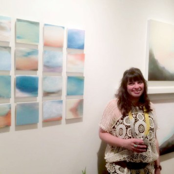 Lesley Frenz, LATITUDE solo show at Art & Light Gallery #art #artgalleries #artshows #greenville