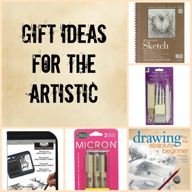 Gift ideas for the artistic done