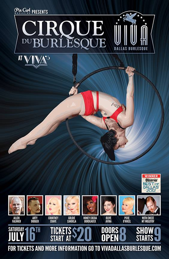 Cirque Du Burlesque-Dallas-TX