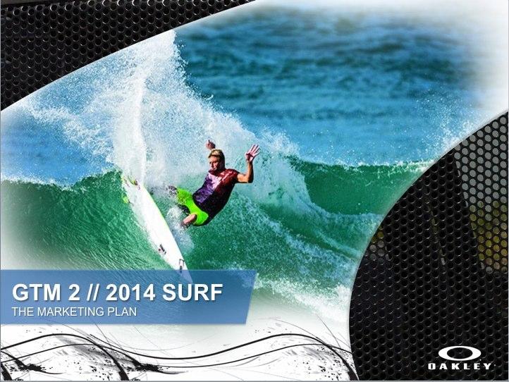 Merchandising Report - Oakley Surf