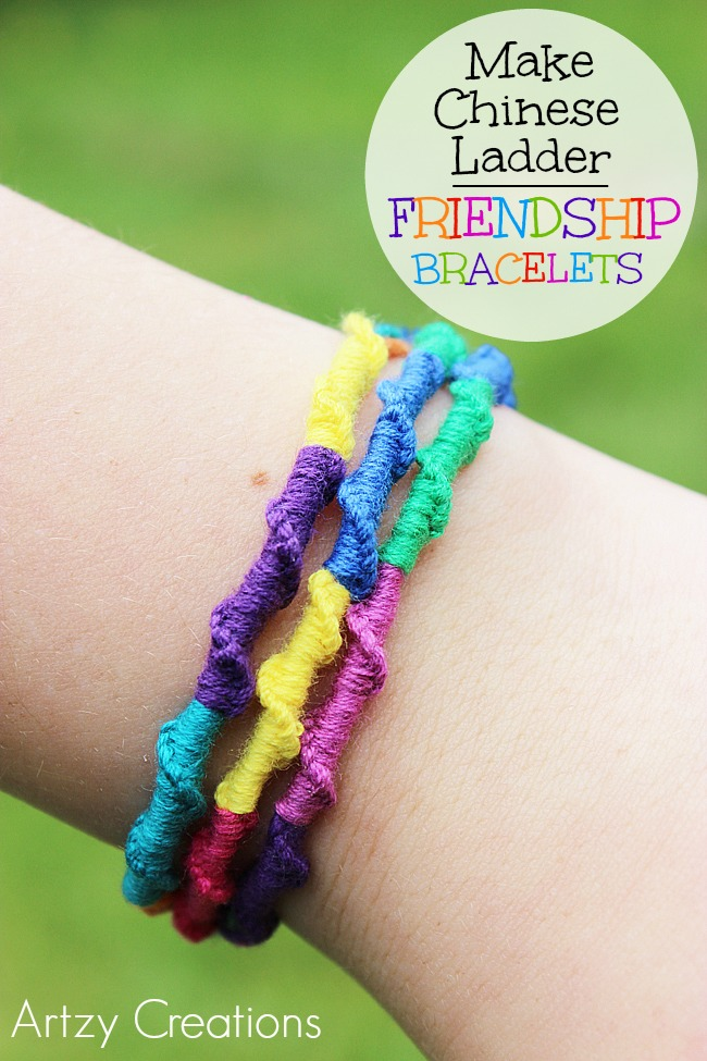 Chinese-Ladder-Friendship-Bracelets 6-Artzy Creations
