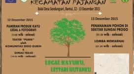 Poster Pagelaran Budaya Kecamatan Pajangan