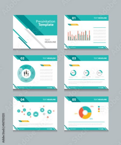 business presentation template set.powerpoint template design backgrounds - Buy this stock ...