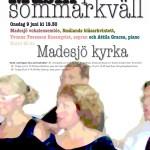 Musik i sommarkväll 2010 A3 x 5