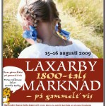 affisch Laxarby marknad09