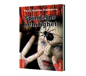 Spindelns hemlighet, Hegas förlag, omslag Åsa Carlsson