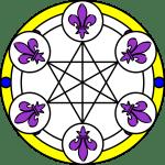 6 Lilien Diskus