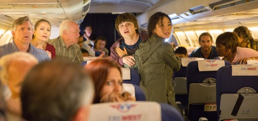 Michelle Ang as Charlie and Brendan Meyer as Jake - Fear the Walking Dead: Flight 462 _ Webisode - Photo Credit: Justina Mintz/AMC Miche