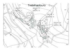 Trebilhadouro - Planta de localização - Trebilhadouro