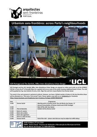 Urbanism sans-frontières across Porto