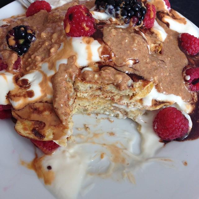 Gesunde lowcarb Pancakes