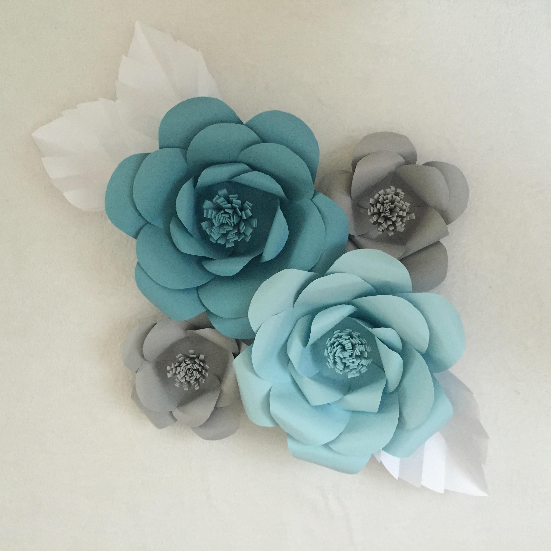Fullsize Of Paper Flower Wall