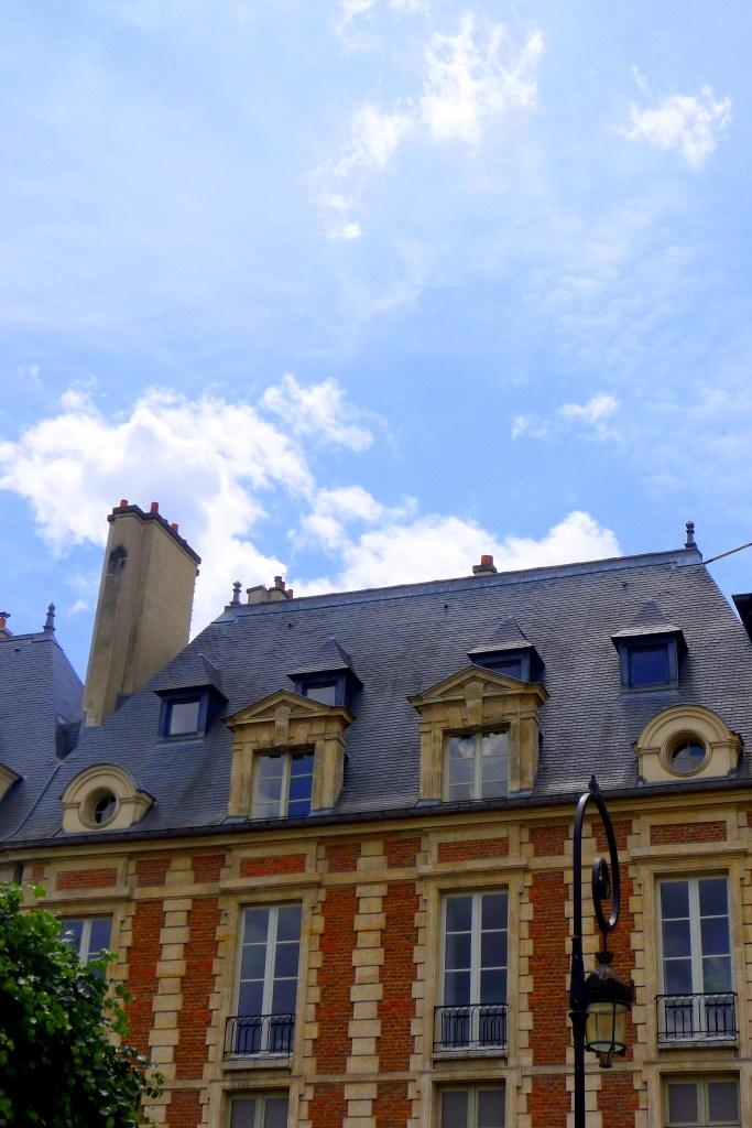 Place des Vosges. Paris, France