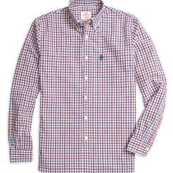 Brooks Brothers Red Fleece - Gingham Sport Shirt