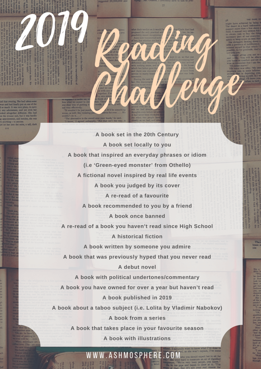 The Ashmosphere 2019 Reading Challenge – The Ashmosphere
