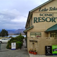 Landing: Lake Tekapo Scenic Resort