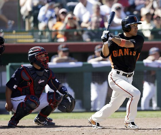 Giants | Kensuke Tanaka to be used in outfield - MLB Hot off the Wire