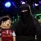 Burqa and English football: a combustible mix?