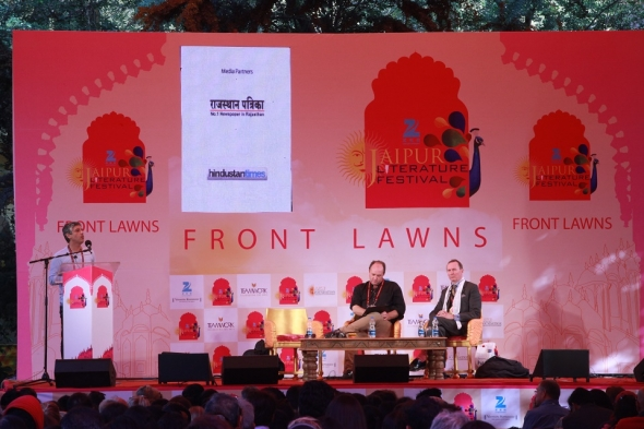 Jaipur Lit Fest: Aslan on Jesus and a dollop of sex and cricket