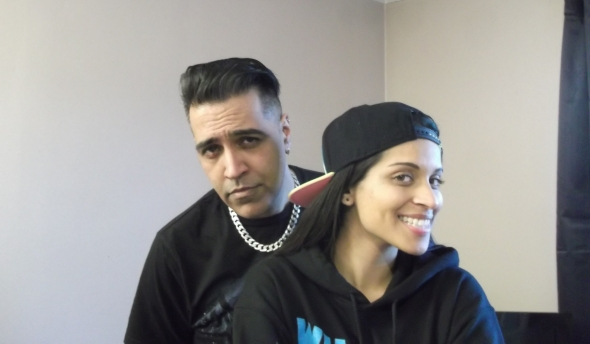 Sunny Grewal and Lilly Singh (aka Superwoman) talk movies and stuff…