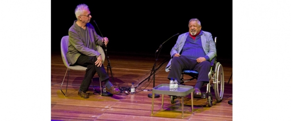 Alchemy 2015: Sir VS Naipaul on his own gloom, doom and spot of luck