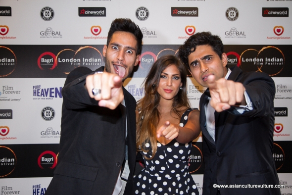 London Indian Film Festival 2015 red carpet gala opening