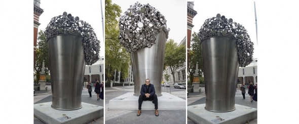 'When soak becomes spill' – Subodh Gupta on the vitality of creation…