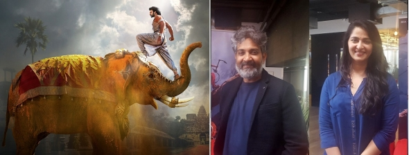 Baahubali team comes to London – director SS Rajamouli and star Anushka Shetty on global smash film
