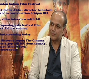 London Indian Film Festival (LIFF) opening gala red carpet video – coming – Lagaan director at BFI for first time today