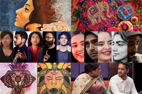 British Asian Festival (May 4-6) –  Comedy, spoken word, Asian writers and a Sridevi tribute