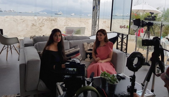 Cannes Film Festival 2018: Mahira Khan interview with Shay Grewal (Sunny & Shay) – coming soon!
