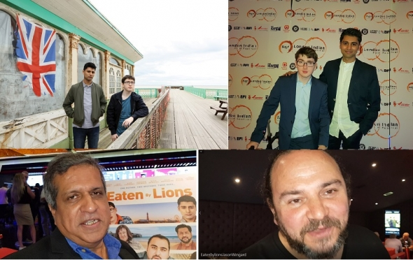 'Eaten by Lions' – Big heart, laughs and some true English eccentrics… 😉 (London Indian Film Festival)