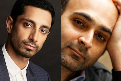 Riz Ahmed and Mohsin Hamid at London Literature Festival