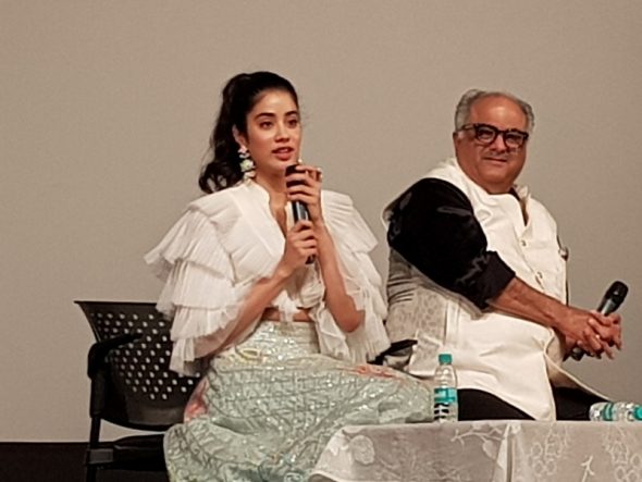 Tears, jeers (about it being all in Hindi) and tribute by Kapoor family on the icon that was Sridevi (IFFI 49)