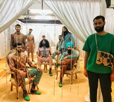 London Fashion Week Men's: British designer Rahemur Rahman puts Bangladesh on the male fashion map but not as you know it…