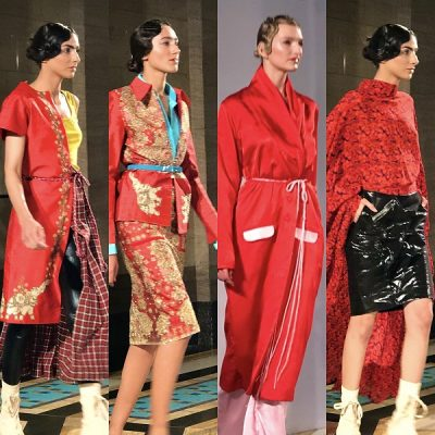 London Fashion Week Autumn/Winter 2019 – Reflections: Sequins, Bollywood, a blockade and a celebrity death – an eventful week…