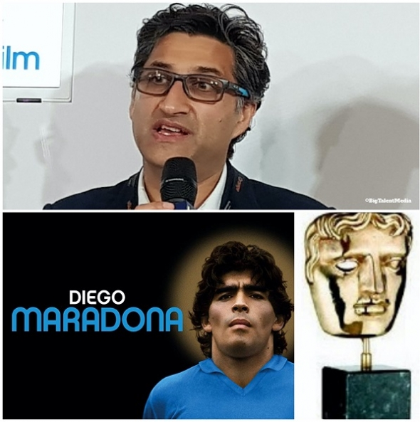 Asif Kapadia honoured to have his 'Diego Maradona' film nominated for a BAFTA and diverse vanguard light up shorts category…