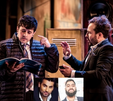 'Mushy – Lyrically speaking' Chance to see much praised musical about stammer star Musharaf ('Mushy') Asghar online…as Ameet Chana talks about story behind story…