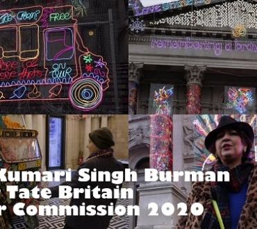 'Remembering a Brave New World' – Chila Kumari Singh Burman Tate Britain Winter Commission 2020 (video only)