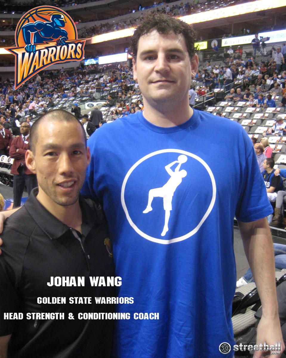 Johan Wang: Trainer of the Golden State Warriors