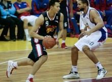 CBA 11/12 Second Round: Jiangsu Dragons v Guangdong Hongyuan