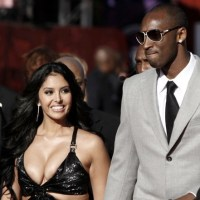 Pictures of Jeremy Lin's teammate Kobe Bryant and his wife Vanessa