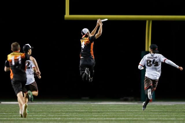Barrs Lang San Francisco Flamethrowers AUDL